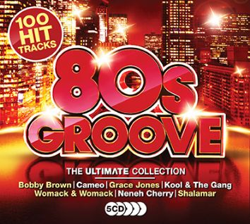 Various - Ultimate 80s Groove (5CD) - CD