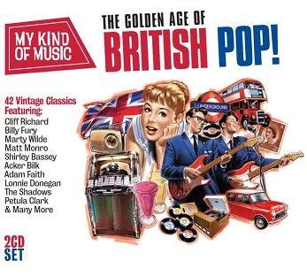 Various - My Kind Of Music: The Golden Age Of British Pop (2CD) - CD