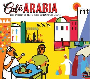 Various - Café Arabia (2CD) - CD