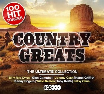Various - Country Greats (5CD) - CD