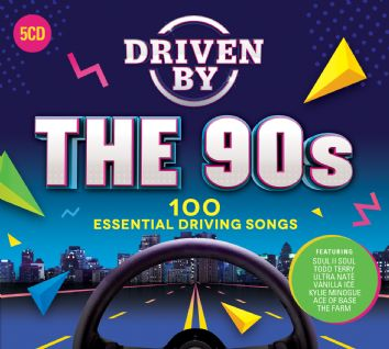 Various - DRIVEN BY THE 90s (5CD) - CD
