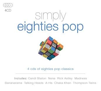 Various - Simply Eighties Pop (4CD) - CD