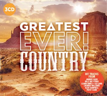 Various - Greatest Ever Country (3CD) - CD