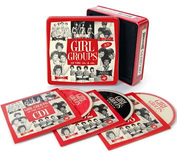 Various - Girl Groups Of The 50s & 60s (3CD Tin & Download