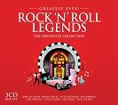 Various - Greatest Ever Rock & Roll Legends (3CD)