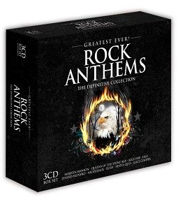Various - Greatest Ever Rock Anthems (3CD) - CD
