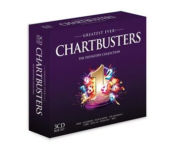 Various - Greatest Ever Chartbusters (3CD) - CD