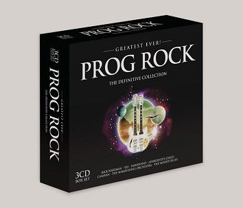 Various - Greatest Ever Prog Rock (3CD) - CD