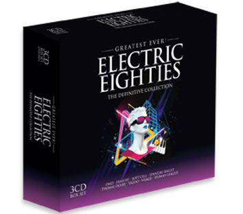 Various - Greatest Ever Electric Eighties (3CD) - CD