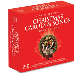 Various - Greatest Ever Christmas Carols & Songs (3CD) - CD