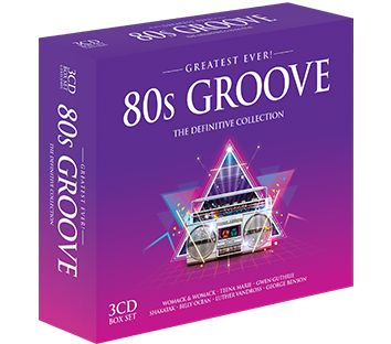 Various - Greatest Ever 80s Groove (3CD) - CD
