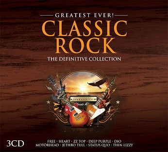 Various - Greatest Ever Classic Rock (3CD) - CD