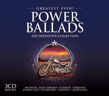 Various - Greatest Ever Power Ballads (3CD) - CD