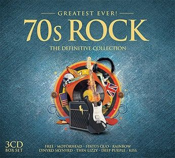 Various - Greatest Ever 70s Rock (3CD) - CD