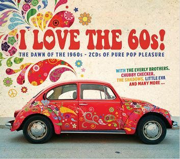 Various - I LOVE THE SIXTIES (2CD) - CD