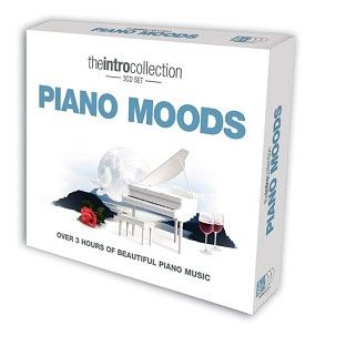 Various - Piano Moods - Over 3 Hours Of Beautiful Piano Music (3CD) - CD