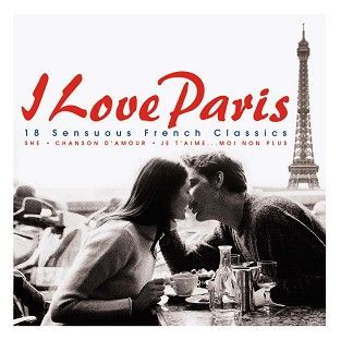 Various - I Love Paris (CD/Download) - CD