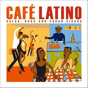 Various - Cafe Latino (CD) - CD