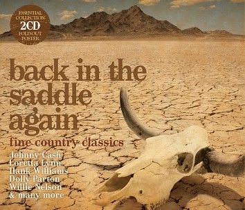 Various - Back In The Saddle Again (2CD / Download) - CD