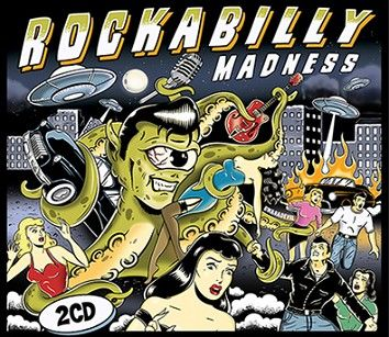 Various - Rockabilly Madness (2CD / Download) - CD