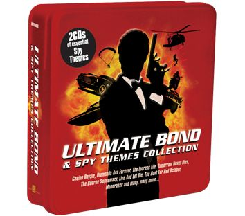 Various - Ultimate Bond & Spy Themes Collection (2CD Tin) - CD
