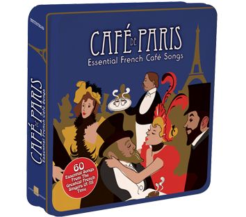 Various - Cafe De Paris - Essential French Cafe Songs (3CD Tin) - CD