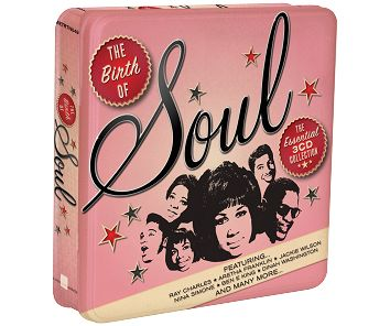 Various - The Birth Of Soul (3CD Tin) - CD