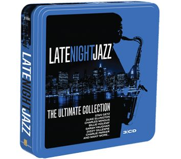 Various - Late Night Jazz <br>(3CD Tin / Download) - CD