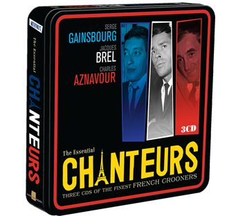 Various - Jacques Brel, Charles Aznavour, Serge Gainsbourg (3CD Tin) - CD