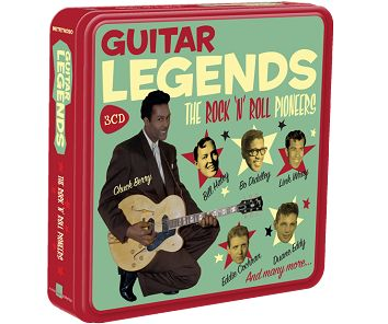 Various - Guitar Legends (3CD Tin) - CD