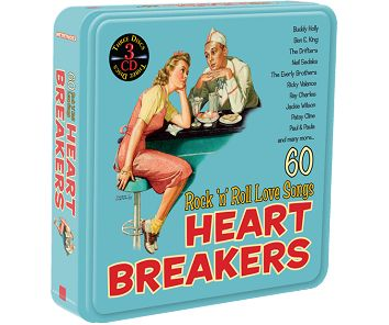 Various - Heartbreakers (3CD Tin) - downloads, cds and dvds