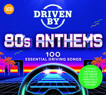 Various - DRIVEN BY 80s ANTHEMS (5CD) - CD