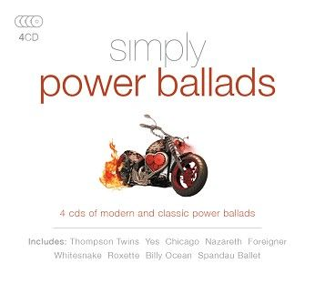 Various - Simply Power Ballads (4CD) - CD