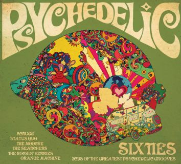 Various Artists - Psychedelic 60s - CD