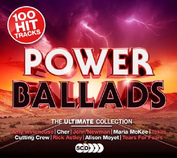 Various - Ultimate Power Ballads (5CD) - downloads, cds and