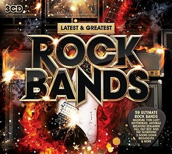 Various - Latest & Greatest Rock Bands (3CD) - CD