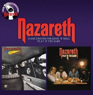 Nazareth - Close Enough for Rock 'n' Roll / Play 'n' the Game (CD) - CD