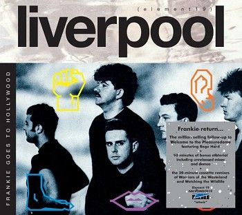 Frankie Goes To Hollywood - Liverpool (deluxe edition)<br>(2CD / Download) - CD