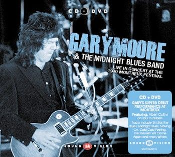 Gary Moore & The Midnight Blues Band - Live In Concert At the 1990 Montreux Festival (CD+DVD) - CD