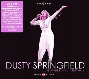 Dusty Springfield - Live At The Royal Albert Hall (CD+DVD) - CD