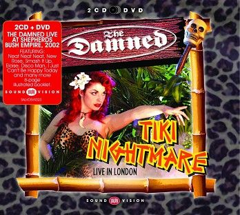 The Damned - Tiki Nightmare (2CD+DVD) - CD