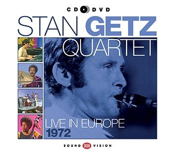 Stan Getz - Live In Europe 1972 (CD+DVD) - CD