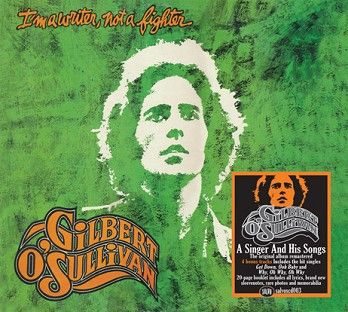 Gilbert O'Sullivan - I'm A Writer, Not A Fighter<br>(CD / Download) - CD
