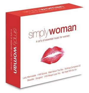 Various - Simply Woman (4CD) - CD