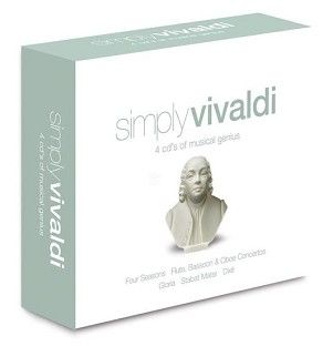 Various - Simply Vivaldi (4CD) - CD