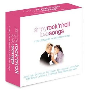 Various - Simply Rock n Roll Love Songs (4CD) - CD