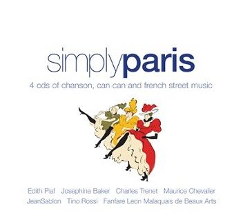 Various - Simply Paris (4CD) - CD