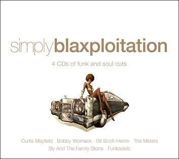 Various - Simply Blaxploitation (4CD) - downloads, cds and dvds at