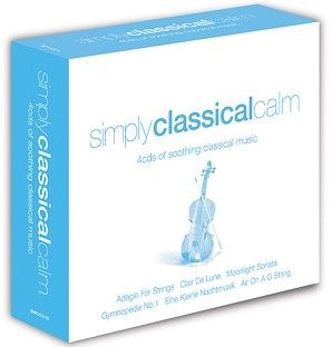 Various - Simply Classical Calm (4CD) - CD
