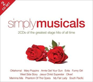 Various - Simply Musicals (2CD / Download) - CD